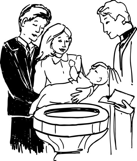 free coloring pages of baptismal candle