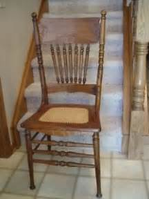 antique pressed back rocking chair oak pressed back chairs ebay
