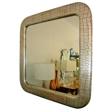 inspirations  large leather mirrors