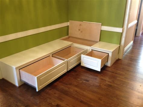 dining room bench seating with storage wood