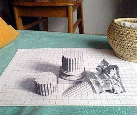 cool 3d pencil drawings cool 3d pencil drawing the creative pinterest 3d