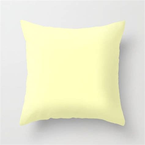 light yellow throw pillows 25 best ideas about pale yellow bedrooms on