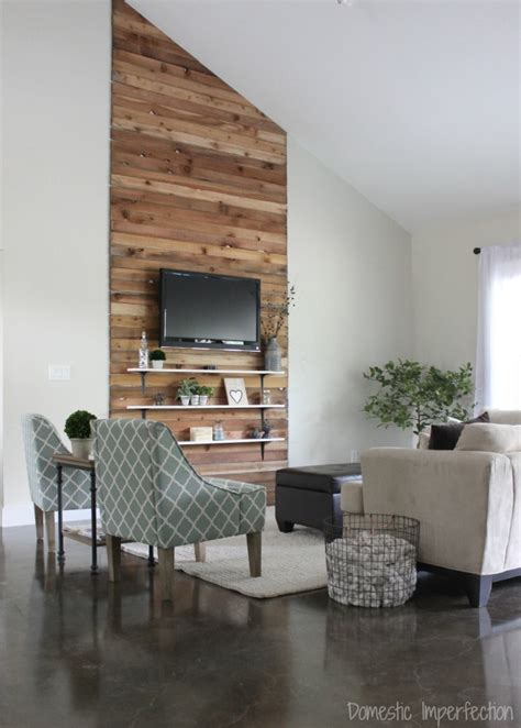 accent wall living room eric and kelsey s budget living room makeover farmhouse