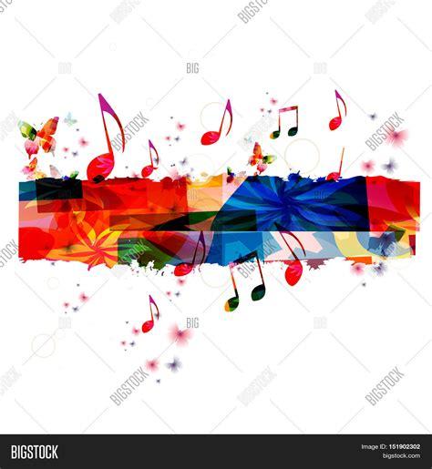 poster design notes creative music template vector image photo bigstock
