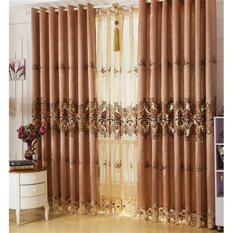 brown flower curtains high end curtains window drapes custom curtains sale