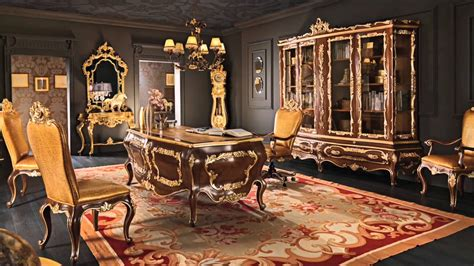 posh home decor classic office studio atelier luxury interior design