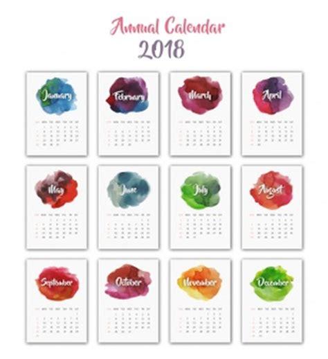 Calendrier 2018 Psd Calendar 2018 Vectors Photos And Psd Files Free
