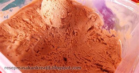 aneka cara membuat es krim resep es krim rumahan sederhana selembut walls coklat