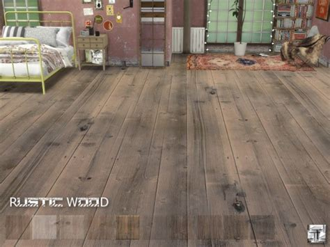 Sims Resource Rustic Wood Floors  Torque Sims