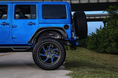 Jeep Wrangler Performance Blue Jeep Wrangler By Performance Carz Tuning