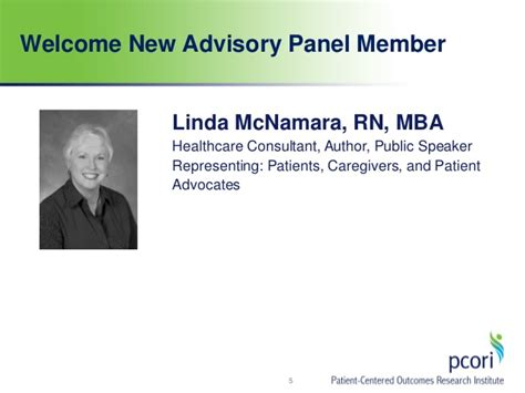 Rn Mph Mba by Advisory Panel On Advisory Panel On Assessment Of