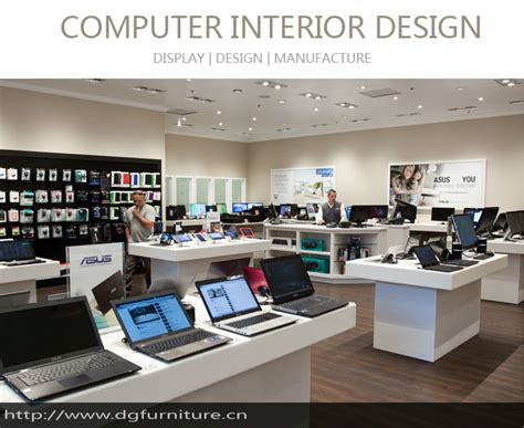 computer shop design layout display racks for retail stores memes