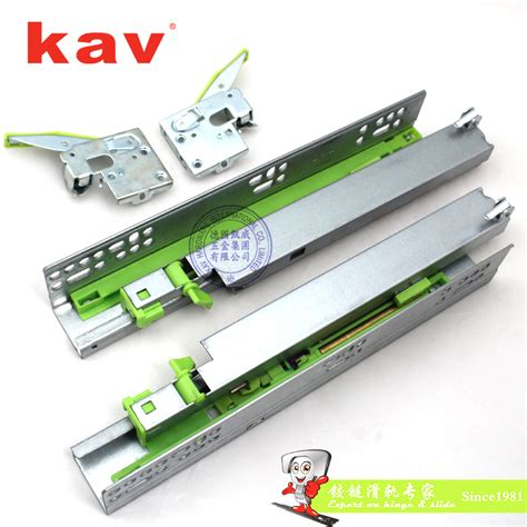 Push To Open Soft Drawer Slides by Extension Concealed Soft And Push To Open Drawer Slides With Iron Der 883bhf Kav