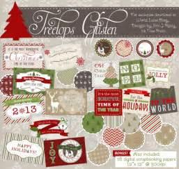 treetop glisten free christmas labels amp digital