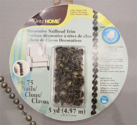 dritz home decorative nailhead trim 28 images silver