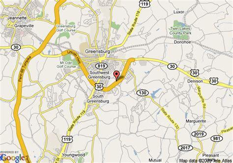 Comfort Inn In Pa Map Of Hampton Inn Greensburg Greensburg