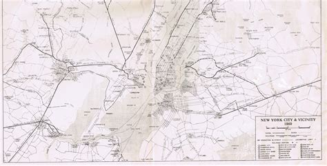 map of new york city tunnels new york and harlem railroad