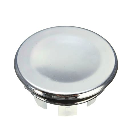 chrome sink overflow cover round overflow cover tidy trim chrome for bathroom basin