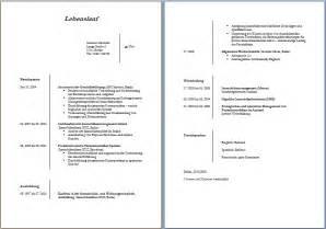 lebenslauf vorlage word dokument blogs