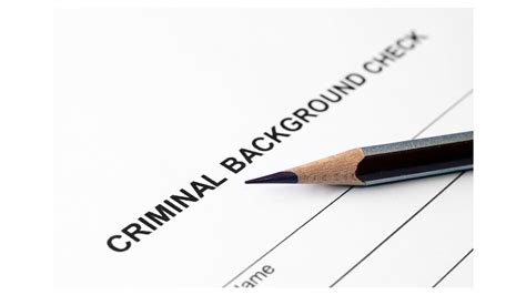 criminal history background check how to use criminal history background checks wisely