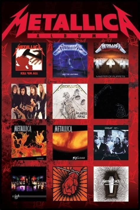 Special For Loyal Ft Readers Save 10 The Fab Selection At Azalea But Act Fast As The Offer Ends Sunday At Midnight 1112 Fashiontribes Fashion by Metallica Albums Poster Sold At Europosters