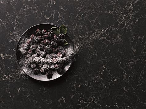 New Vanelia Black new marble inspired colours and designs from caesarstone