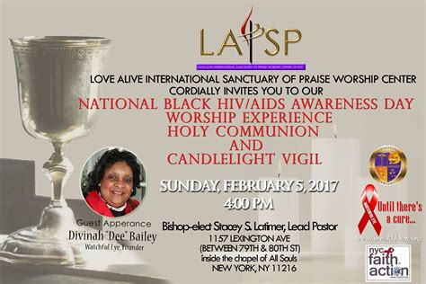 national black day 2017 national black hiv aids awareness day 2017 lai sanctuary of praise