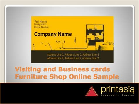 sofa outlet store online furniture shop visiting cards designs printasia in