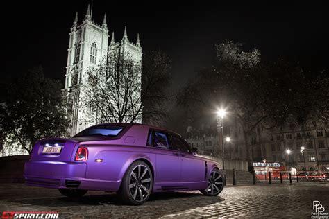 purple rolls gallery matte purple mansory rolls royce phantom stuns in