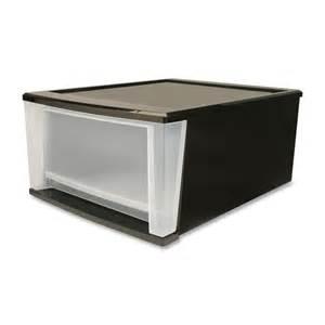 irs129805 iris 17 quart stackable drawer office supply hut