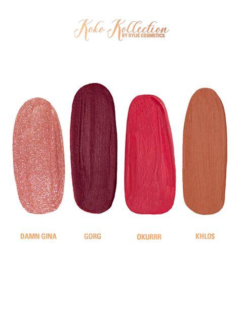 Lipstik Koko Collection koko kollection matte liquid lipsticks gloss