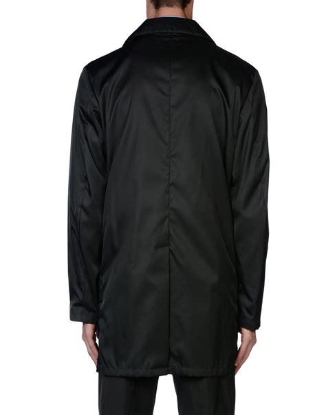 Prada Jaket lyst prada length jacket in gray for
