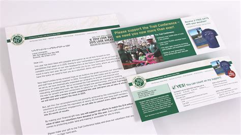 Appeal Letter Design New York New Jersey Trail Conference Annual Appeal Design