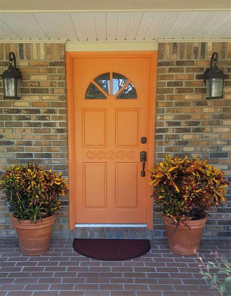 orange front door 1000 ideas about orange front doors on pinterest orange