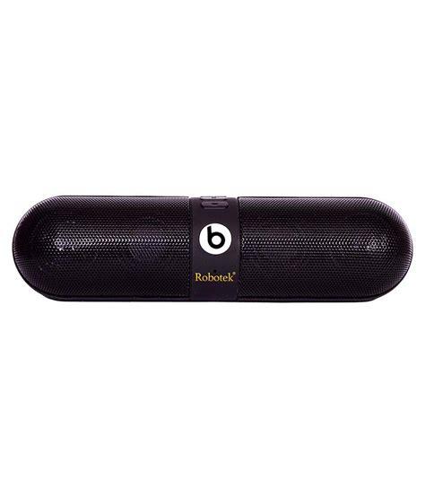 Speaker Bluetooth Pil Black robotek b pill bluetooth speakers black buy robotek b pill bluetooth speakers black