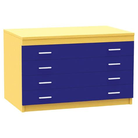 Paper Drawers by A1 Paper Storage 4 Coloured Drawers