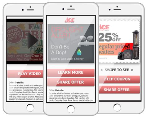 ace hardware sms new mobile shopper marketing program for retailers