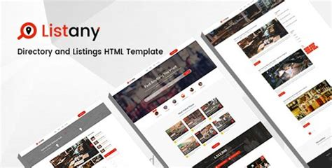 themeforest listing themeforest listany v1 0 directory and listings psd