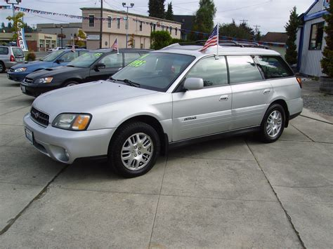Subaru Outback Leather Interior 2004 Subaru Outback Limited Awd Auto Sales