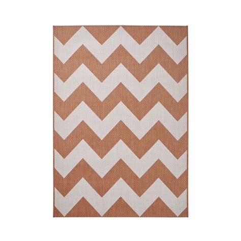 Cottage Rugs by Cottage Geometric Rug In Terracotta Modern Rectangle