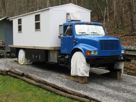 tiny house truck ronnie s tiny house truck for sale