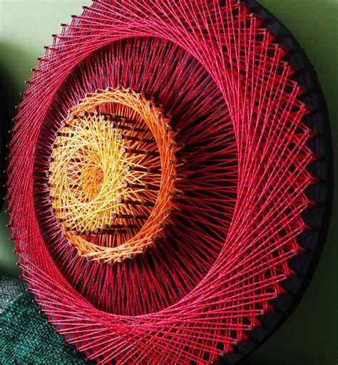 3d String Patterns - aline cbell string mandalas mentilka