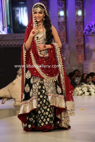 Maxi Zaenab Maroon zainab chottani royal wedding dresses collection 2013 2014