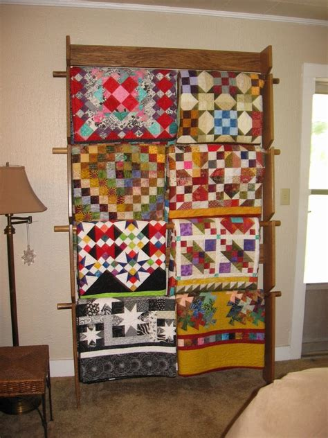 Quilt Rack Display by Great Day In The Morning Quilt Ladder