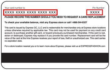 Gift Card Number And Pin - gift card number