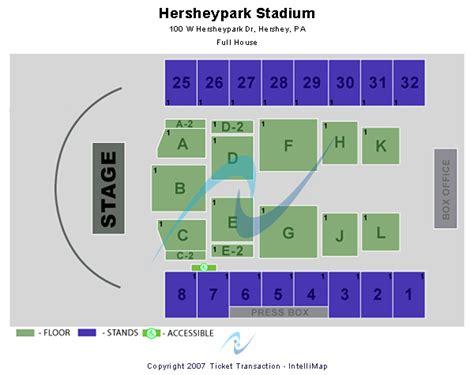 hershey theatre seating capacity hersheypark stadium seating chart