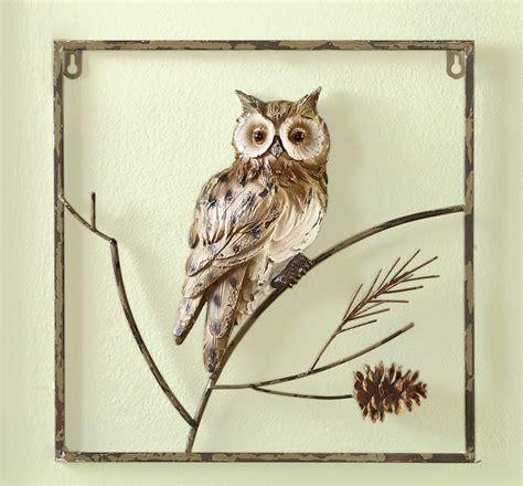 metal bathroom wall art winter ivory owl rustic metal wall art decor bathroom