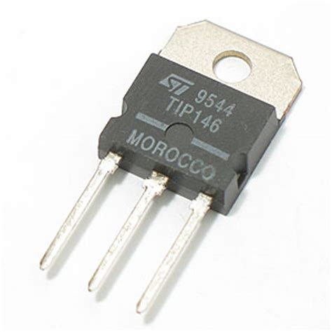 darlington transistor power supply electronic goldmine tip146 silicon power darlington transistor st