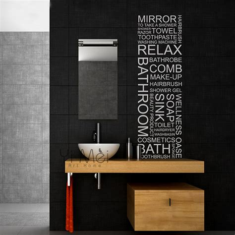 bathroom mirror decals aliexpress buy classic wall decal bathroom mirror