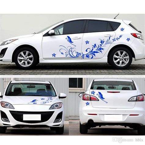 7 Car Sticker by Flower Decals For Cars Www Pixshark Images